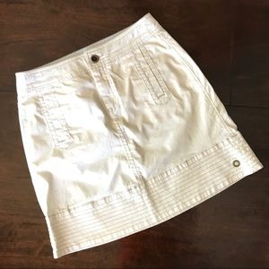 Hei Hei Anthropologie Utility Khaki Skirt 4